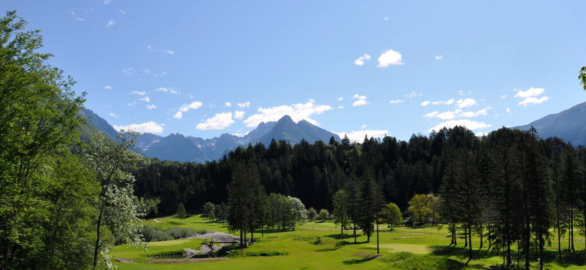 Golf Club Bovec - 4. Loch