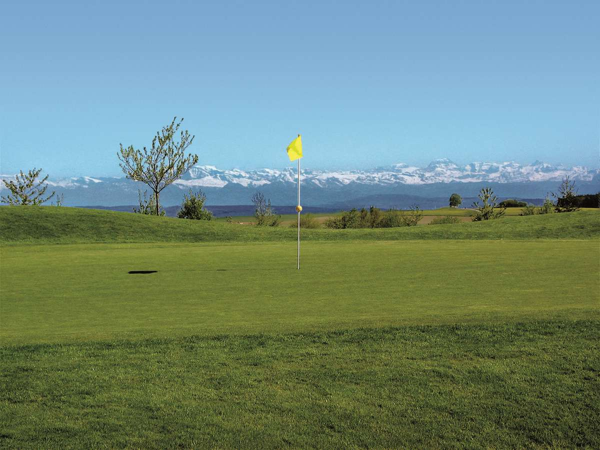Golfclub Obere Alp - View of the Swiss Alps