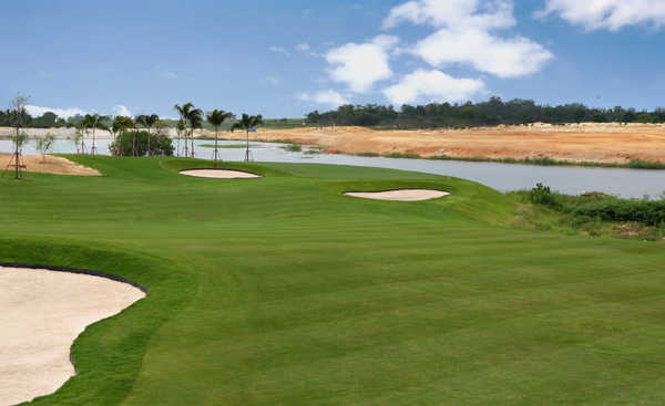 Siam Country Club Pattaya, Waterside Course