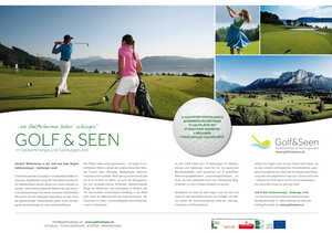 Golf & Seen, Salzkammergut & Salzburger Land