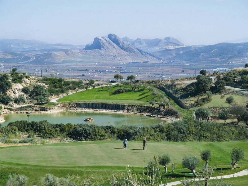 Winter Holidays to Spain -  Antequera golf