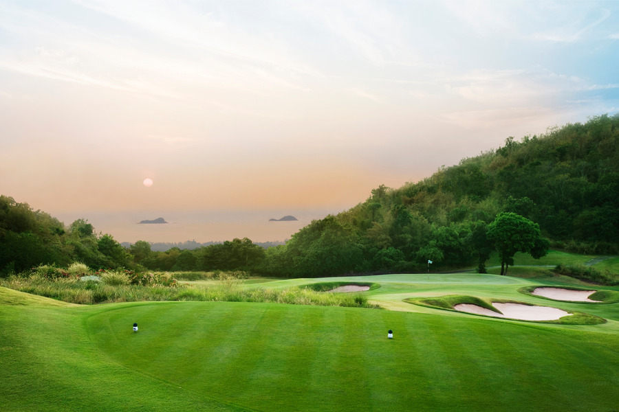 Banyan Golf Club Prachuabkirikhan Thailand Albrecht
