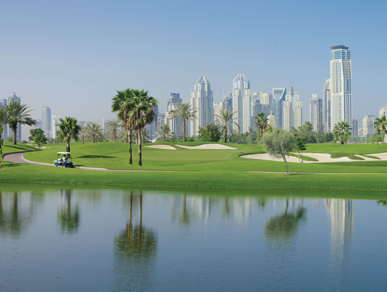 Emirates Golf Club, Dubai, United Arab Emirates - Albrecht ...