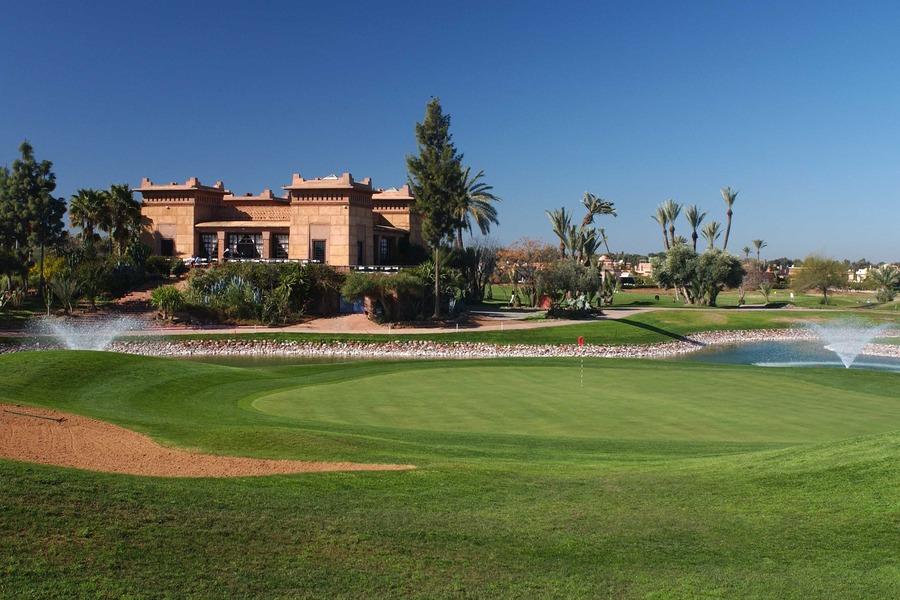 Golf Club Amelkis, Marrakesch, Morocco - Albrecht Golf Guide