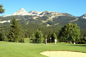 Golf Corrençon en Vercors