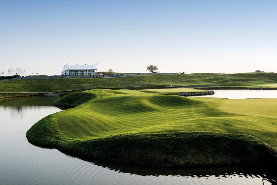 Le Golf National Guyancourt France Albrecht Golf Guide