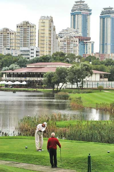 Moscow city golf club galerie