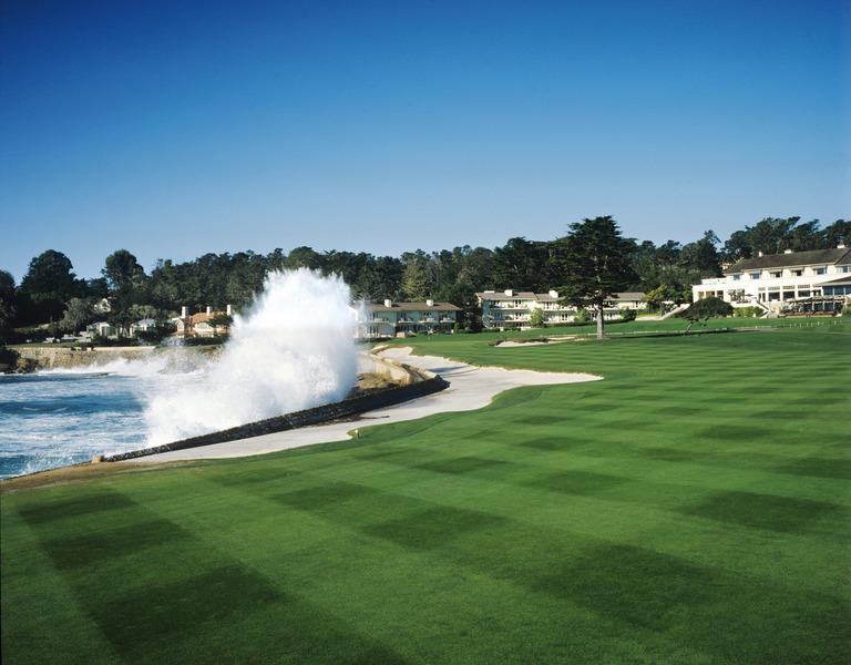 Pebble Beach Golf Links Hole 9 18