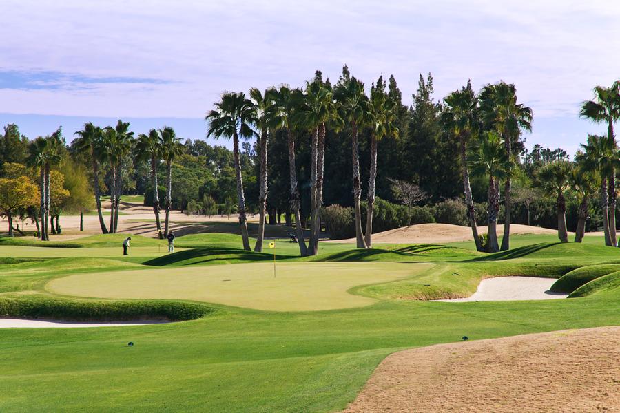 real club de golf de sevilla alcala de guadaira spanien. Black Bedroom Furniture Sets. Home Design Ideas