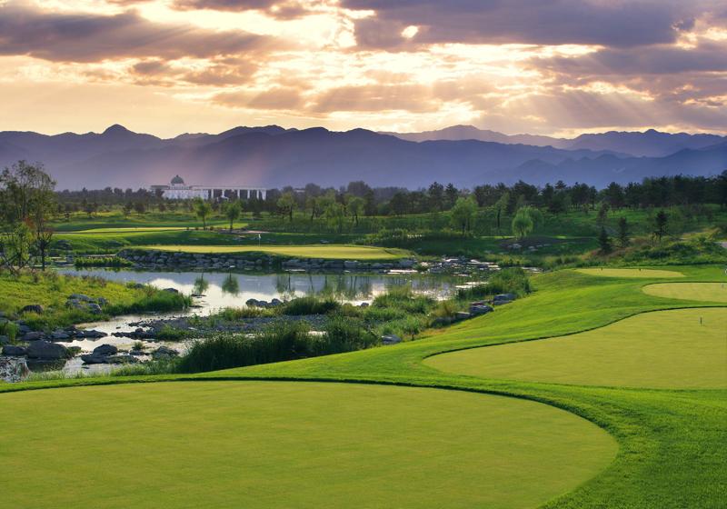 Reignwood Pine Valley Golf Club Beijing China Albrecht