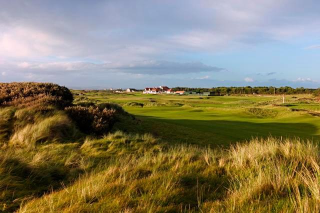 Western Gailes Golf Club Irvine Gro 223 Britannien
