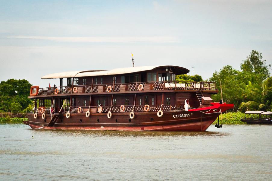 Bassac River Cruises Can Tho Vietnam  Albrecht Golf Guide
