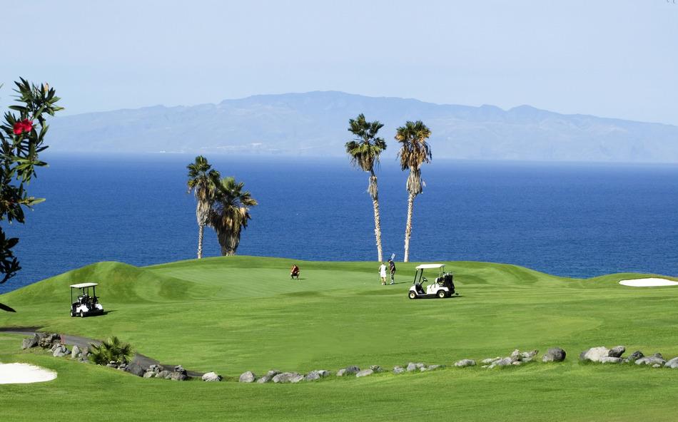 Resultado de imagen de golf costa adeje