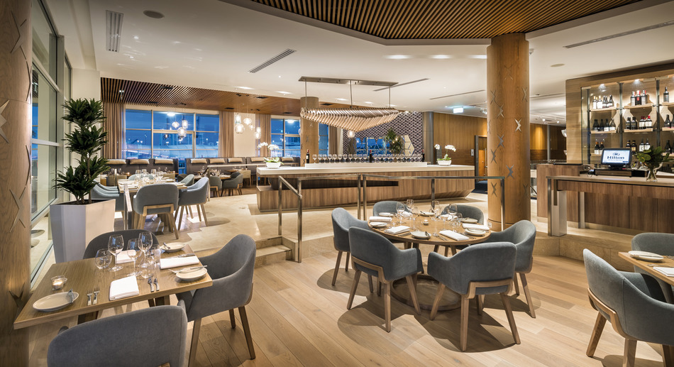 Hilton auckland hotel auckland new zealand albrecht for Fish restaurant hilton head