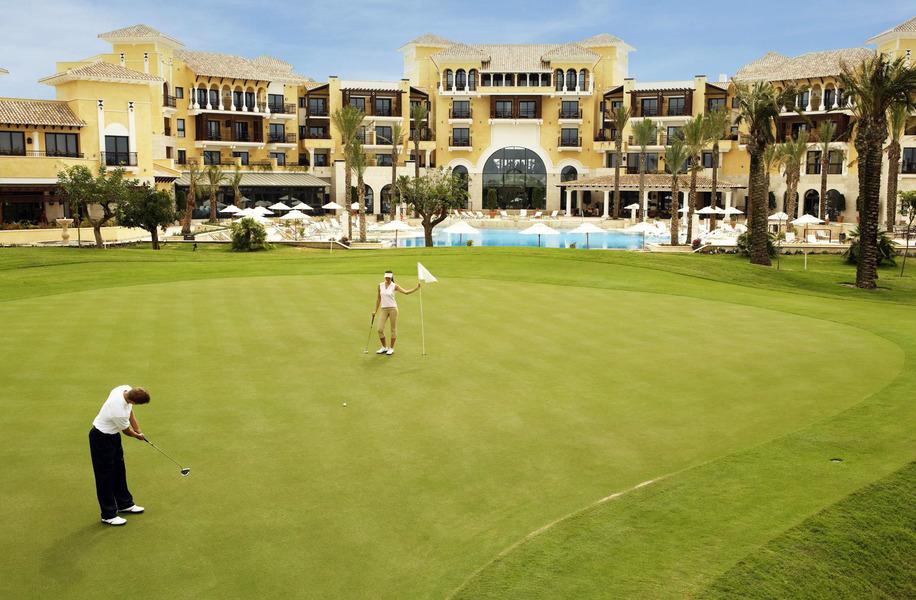 intercontinental mar menor golf resort hotel golf packages albrecht golf travel. Black Bedroom Furniture Sets. Home Design Ideas
