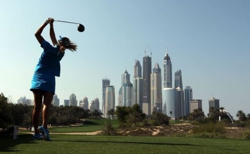 Teen sensation Thompson wins Dubai Masters golf